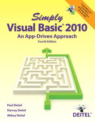 Simply Visual Basic 2010 By Deitel, Paul